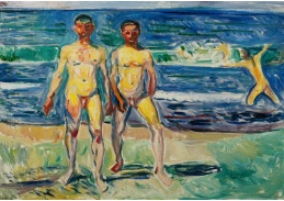 D-7132 Edvard Munch - Muži u moře