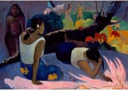 A-107 Paul Gauguin - Odpočívající tahitské ženy