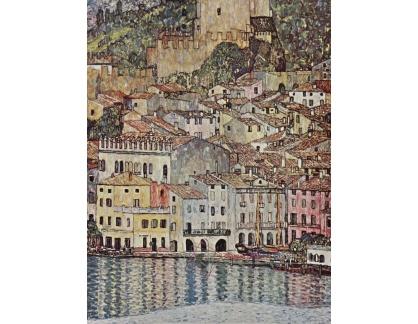 VR3-128 Gustav Klimt - Malcesine u jezera Lago di Garda