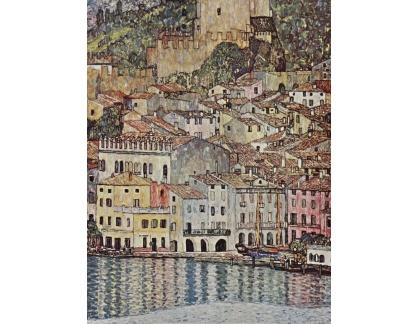 VR3-127 Gustav Klimt - Malcesine u jezera Lago di Garda