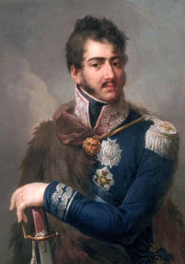 PORT-359 Josef Grassi - Portrét prince Jozefa Poniatowského