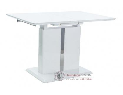 Jídelní stůl rozkládací 110-150x75cm DALLAS bílý