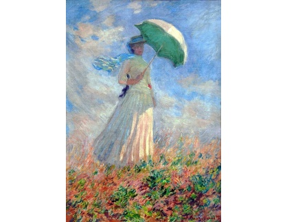 R8-212 Claude Monet - Žena se slunečníkem