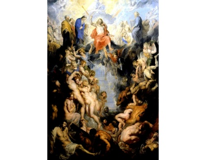 VRU87 Peter Paul Rubens - Poslední soud