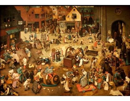 BRG-147 Pieter Brueghel - Boj mezi karnevalem a půstem
