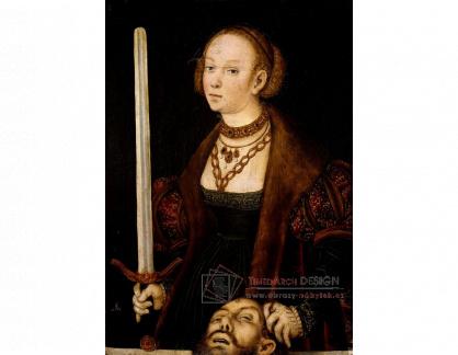VlCR-238 Lucas Cranach - Judita s hlavou Holoferna