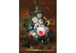 D-6100 Neznámý autor - Růže, tulipány a další květiny ve váze