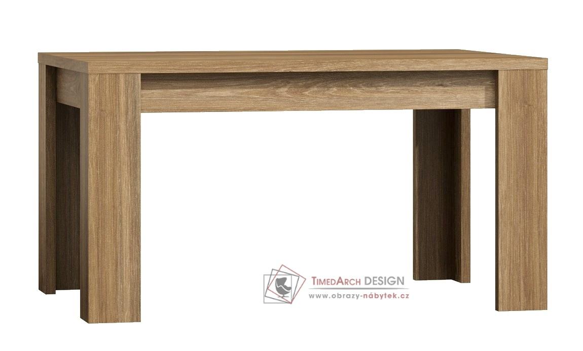 Jídelní stůl rozkládací 160x90 cm PARIS dub san remo