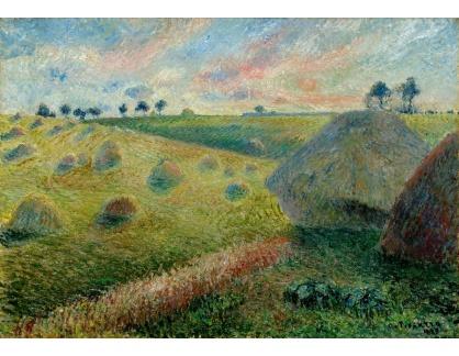 VCP-442 Camille Pissarro - Krajina se stohy sena v Osny