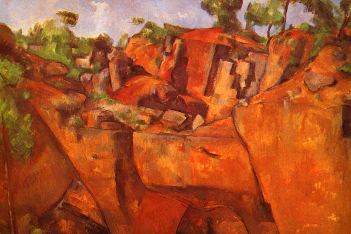 R10-139 Paul Cézanne - Kamenolom Biemus