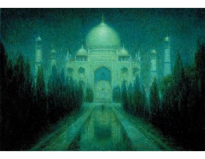 VANG167 Charles W. Bartlett - Taj Mahal v měsíčním světle