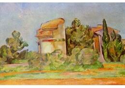 R10-133 Paul Cézanne - Pigeon Tower v Bellevue
