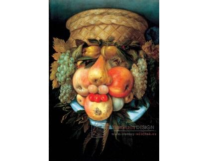 Giuseppe Arcimboldo - Ovoce