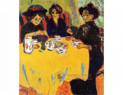 VELK 93 Ernst Ludwig Kirchner - Ženy u kávy