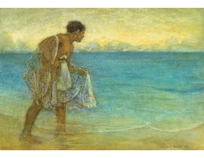 VANG166 Charles W. Bartlett - Hawaiský rybář