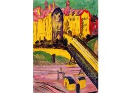 D-7827 Ernst Ludwig Kirchner - Pohled z okna