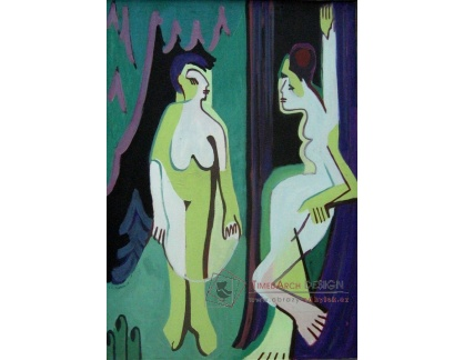 VELK 61 Ernst Ludwig Kirchner - Nahé ženy na pasece