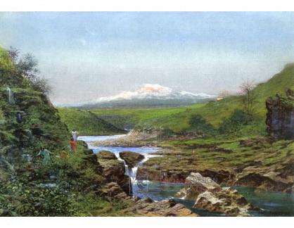 VF213 Jules Tavernier - Vodopády Wailuku