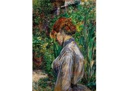 D-6345 Henri de Toulouse-Lautrec - V zahradě pana Foreta