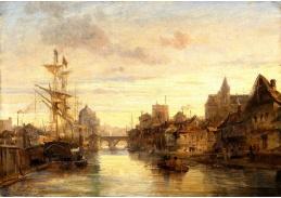 D-9453 Charles Euphrasie Kuwasseg - Motiv z Amsterdamu