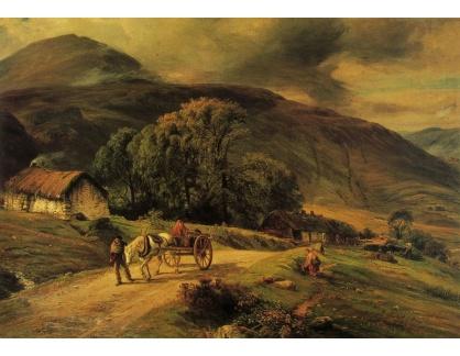 VANG245 John MacWhirter - Větrný den v Arran