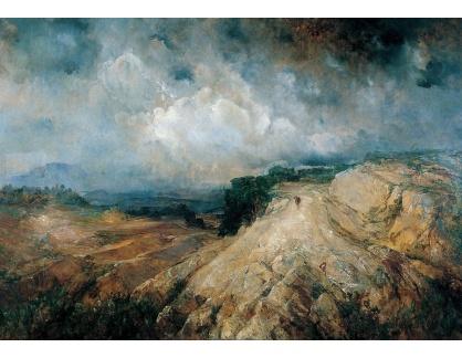 Slavné obrazy XIV-52 Ramón Martí Alsina - Horská krajina