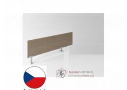 Evropa - dělící panel pro samostatně stojící stoly P12D18-02