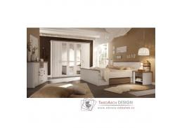 LUMERA, ložnicová sestava nábytku, pinie bílá / dub sonoma truflový