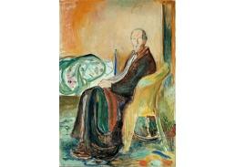 DDSO-2608 Edvard Munch - Autoportrét ve Španělsku