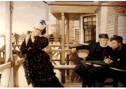 VR16-16 James Tissot - Kapitán s dcerou