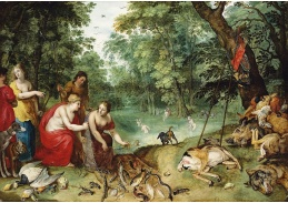 BRG-10 Jan Breughel a Hendrick van Balen - Diana a její nymfy po lovu