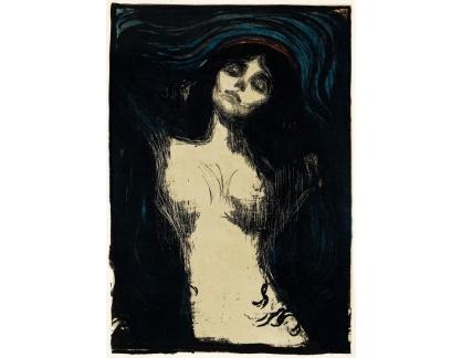 Slavné obrazy I-DDSO-88 Edvard Munch - Madonna
