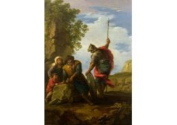 XV-116 Andrea Locatelli - Lupič ve skalnaté krajině