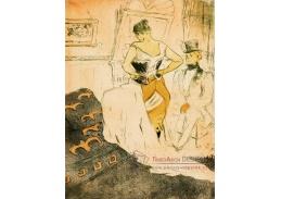 A-227 Henri Toulose-Lautrec - Žena v korzetu