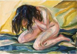 D-7130 Edvard Munch - Klečící ženský akt
