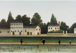 D-7266 Henri Rousseau - Krajina a čtyři rybáři