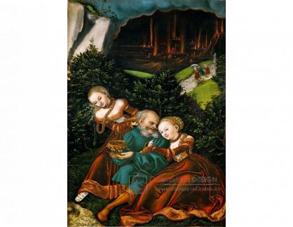 VlCR-126 Lucas Cranach - Lot a jeho dcery