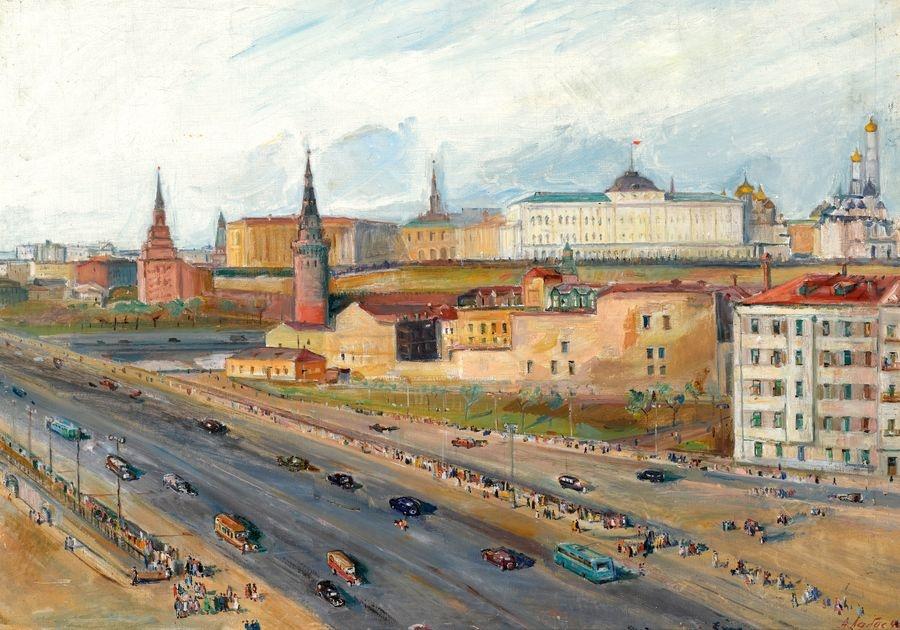 VR-390 Alexander Arkadijevič Labas - Pohled na Krem