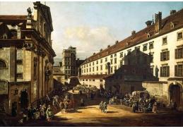 Slavné obrazy XI-115 Canaletto - Dominikánský kostel ve Vídni