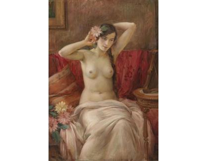 Slavné obrazy X 119 Bohumil Mareček - Ženský akt