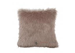 FOXA, polštář 45x45cm typ3, růžová / zlatorůžová