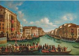 DDSO-5006 Giovanni Grubacs - Benátky, regata na Canal Grande