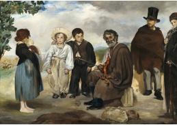 D-7123 Édouard Manet - Starý hudebník