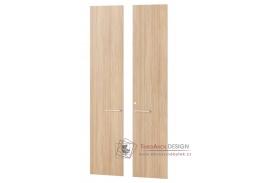 Dveře ke skříni OMEGA 04 jantarový dub - sada 2ks