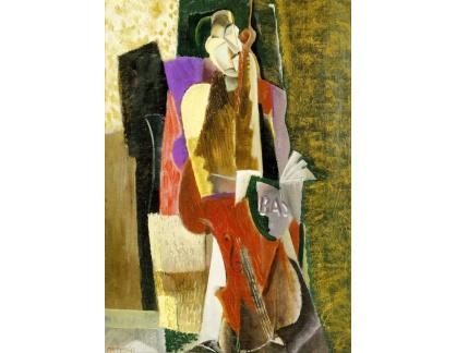 Krásné obrazy II-424 Max Weber - Čellista