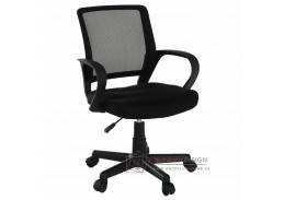 ADRA, kancelářská židle, látka mesh černá
