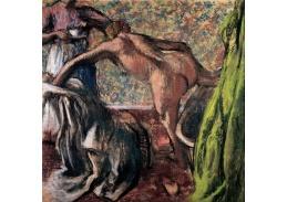 VR6-69 Edgar Degas - Snídaně po koupeli