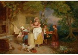 Slavné obrazy III-16 Francis Wheatley - Ráno