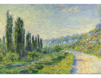Slavné obrazy XVI-411 Claude Monet - Cesta k Vetheuil