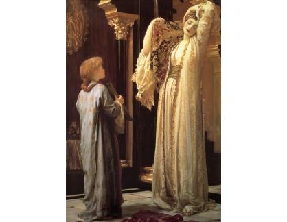 Slavné obrazy XVII-168 Frederick Leighton - Světlo v harému
